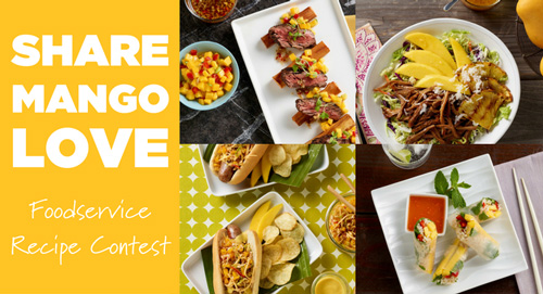 Share. Mango. Love. Foodservice Recipe Contest