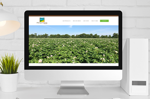 Michael Family Farms debuted its new website to convey necessary information on the potatoes marketed under the Side Delights® brand quickly and efficiently with engaging details