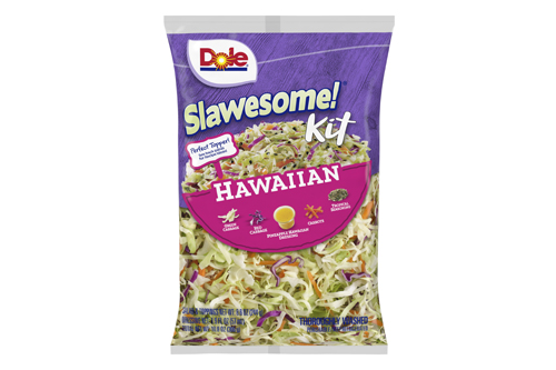 Dole's Premium, Chopped!, and Slawesome! salad kit lines are also being expanded this year with new flavors joining each lineup this year