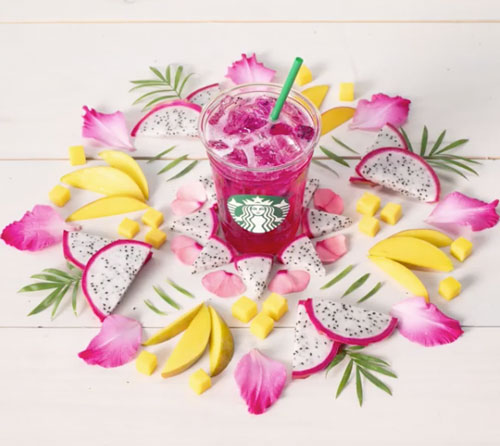 Starbucks' Mango Dragonfruit Refresher