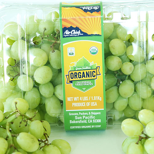 Sun Pacific® Organic Air Chief® Grapes