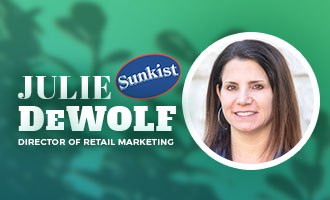 Sunkist Growers' Julie DeWolf Discusses New Citrus Promotions