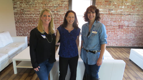 From left to right: Nikki Rodoni, Kris Gavin, Dana Gunders