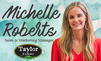 Taylor Farms' Michelle Roberts Discusses Three New Foodservice Products at PMA Foodservice 2019