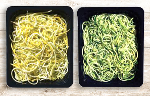 Zucchini and Yellow Squash Vegetables Noodles