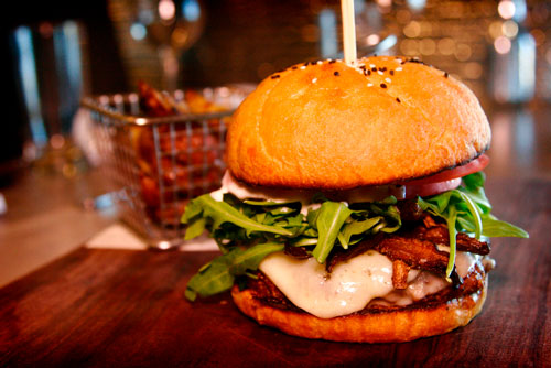 The Goomba Burger, The Bistro