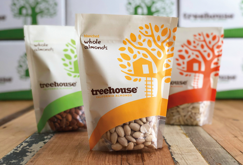 Treehouse's go-to market packaging strategy leaned on color, shape, and clear product identification to introduce itself to consumers