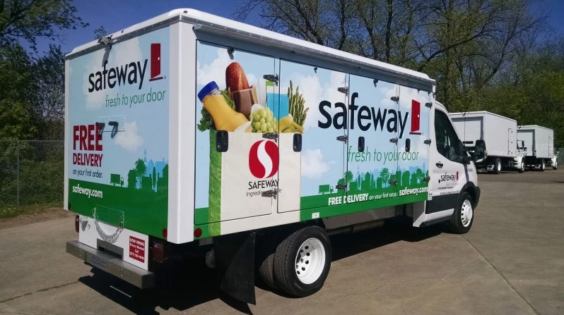 Safeway And Albertsons Launch Grocery Delivery Service In