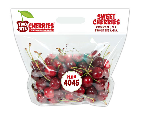 Domex Superfresh's Two-Bite Cherries™ Pouch Bag