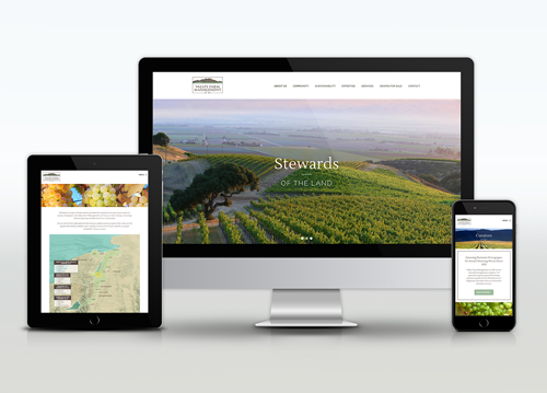 Moxxy Marketing was awarded a 2020 American Web Design Award by Graphic Design USA (GDUSA) for the design and functionality of a website for Valley Farm Management