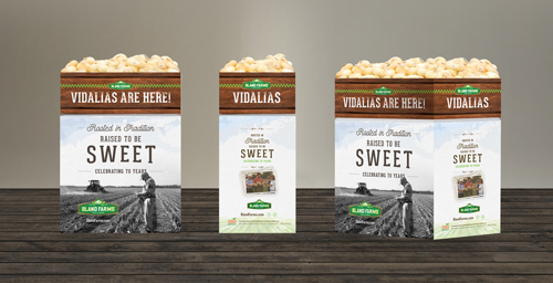 The new look was developed by Bland Farms® in coordination with Orlando-based consultant Super Marketing Promotions