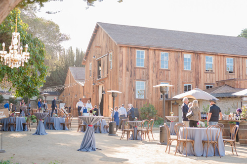 The reception will be held for the first time in The Barns at Cooper Molera, a refurbished, historic venue in Monterey a few blocks from the convention center