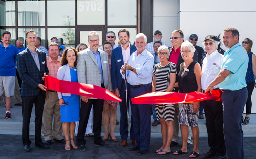Volm Companies' ribbon-cutting