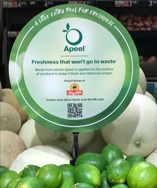 The two companies, both questing to combat the global food waste crisis, unveiled that Apeel Science's longer-lasting limes will now be available across Wakefern Food Corp.'s banner brands