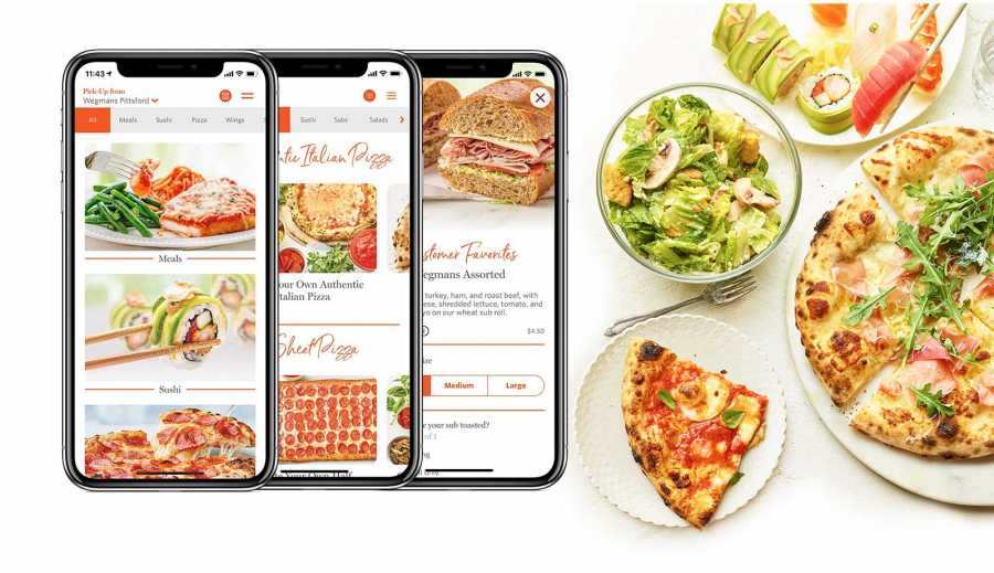Wegmans has teamed up with DoorDash to deliver popular restaurant-quality meals in its new Wegmans Meals 2GO app