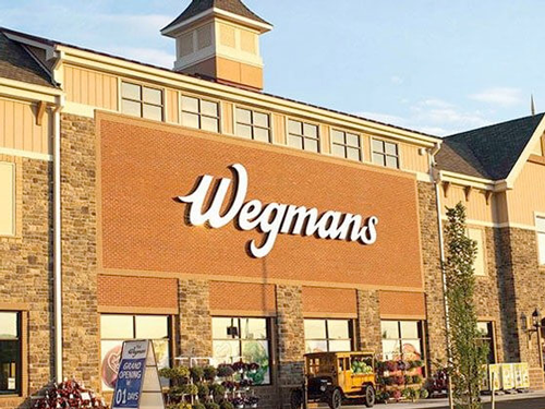 Wegmans' new Tysons Corner store is looking to hire 480 people—180 of which will serve in full-time positions