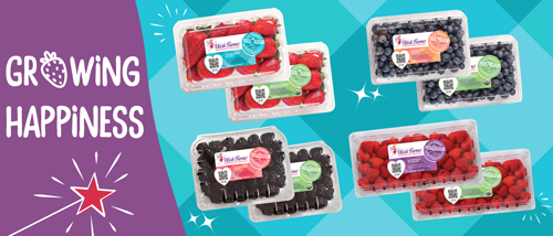 "Wish Farms is planning to showcase its brand refresh this year, resplendent with a new booth graphic, new berry labels, and its new tagline, ""Generations of Sweetness"""